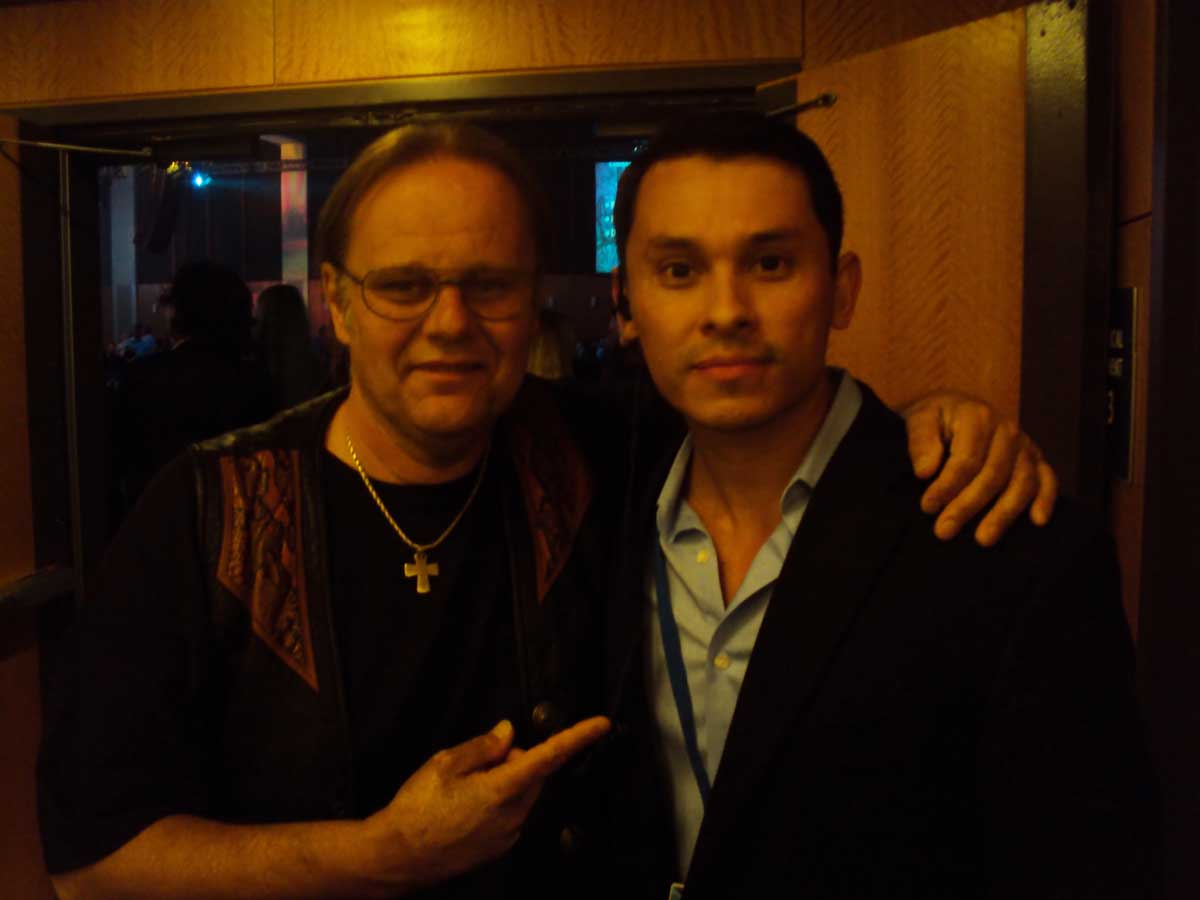 Darren Jay and Walter Trout