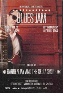 Memphis Blues Society Blues Jam