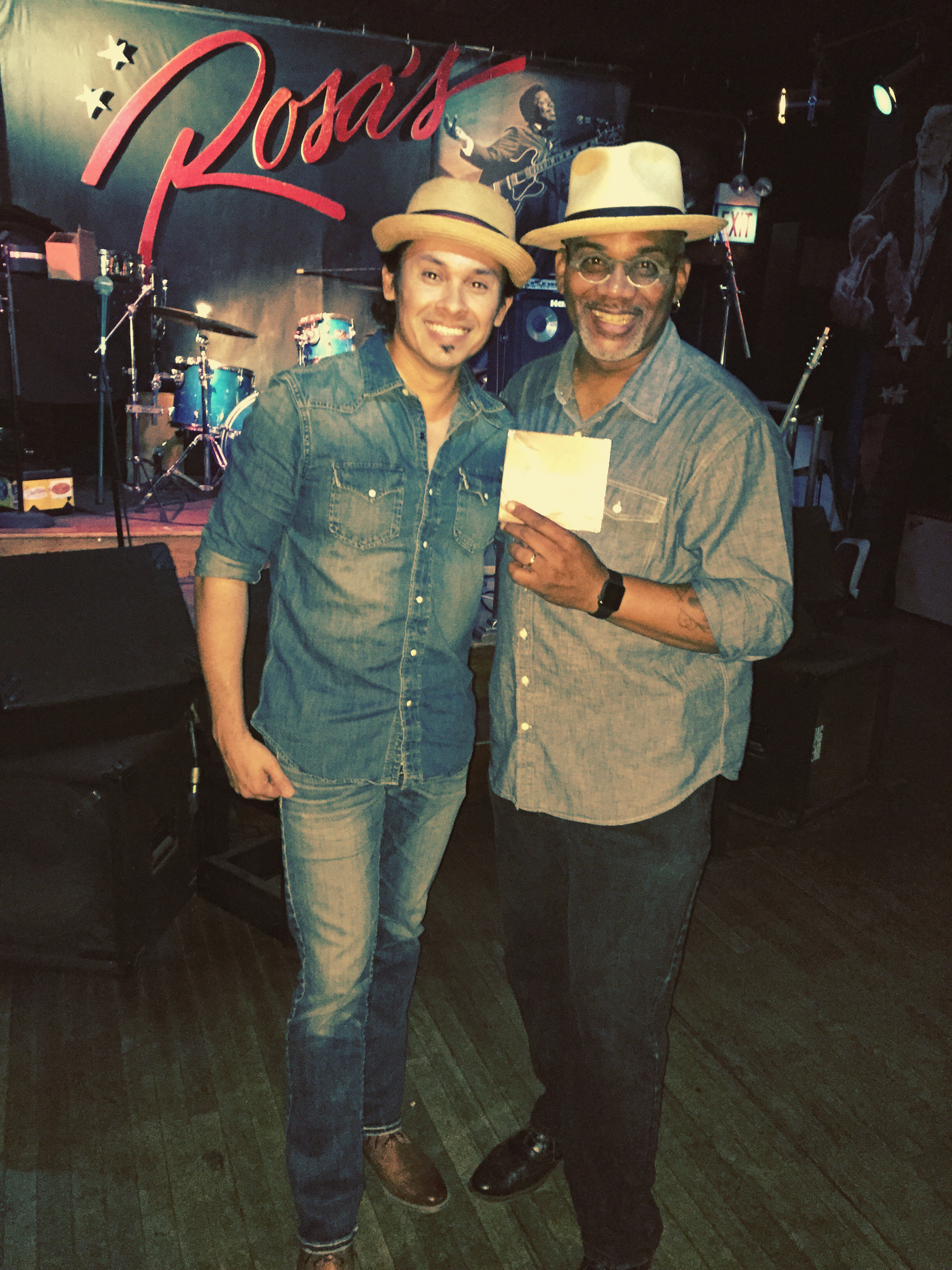 Darren Jay and Toronzo Cannon at Rosa's Lounge Chicago