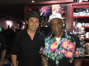 Darren Jay and Buddy Guy at Legends in Chicago.