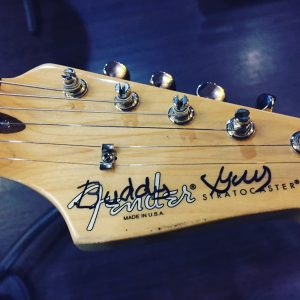 Buddy Guy Signature on my Fenderstrat.